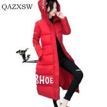 2016 New Fashion Women Down Jacket Winter Hooded Warm Thickening Cotton coat Long Parka Women Winter Outwear Coat Female ZH027