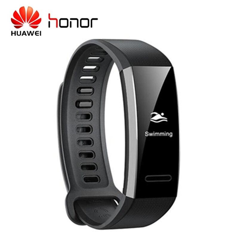 Huawei Fascia 2 Pro IP68 GPS Sport Braccialetto Intelligente PMOLED Schermo Sonno Monitor di Frequenza Cardiaca di IP68 Impermeabile di Sport di Guida Smartband