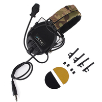 Tactical Headset Releases New Hi Threat Tier 1 Fast Helmet Tactical Shooting Headphones Softair Earphone For Airsoftspo Z110