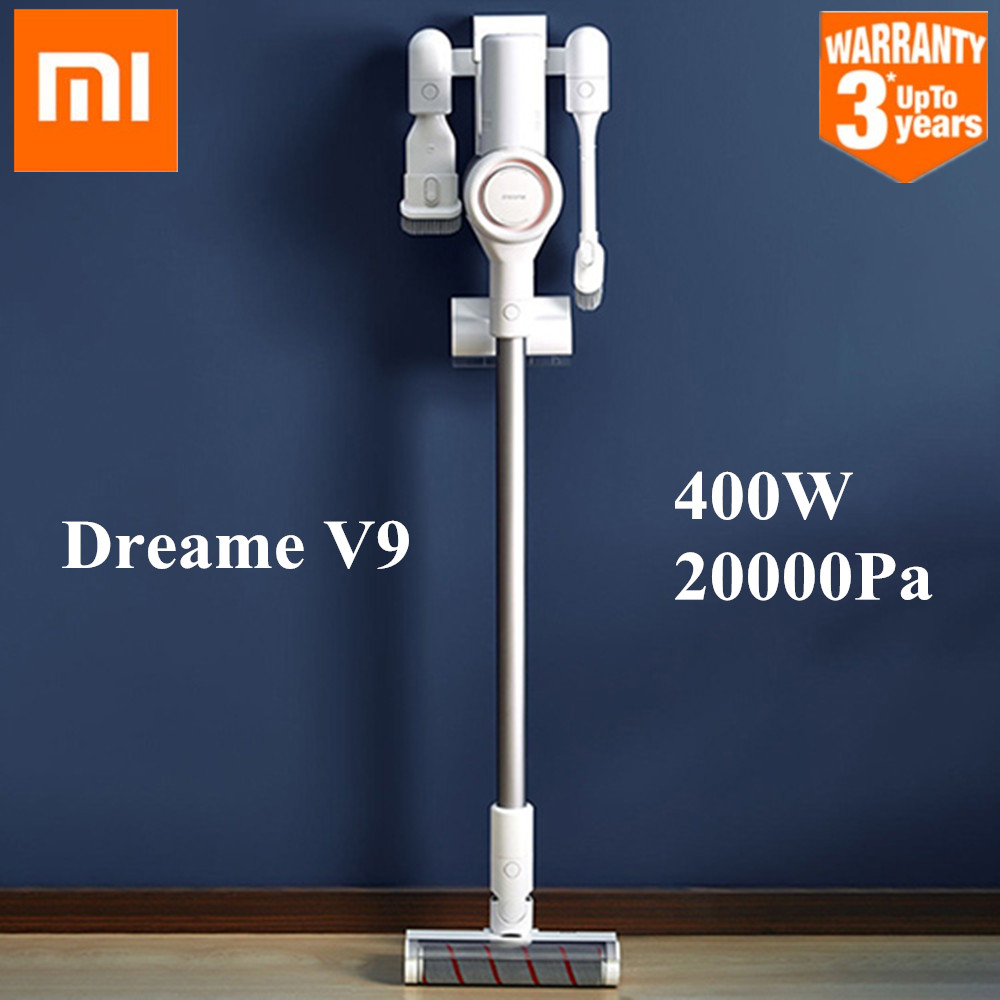 MI Xiaomi Dreame V9 Vacuum Cleaner Handheld Cordless Stick Aspirator Vacuum Cleaners 20000Pa For Home Car