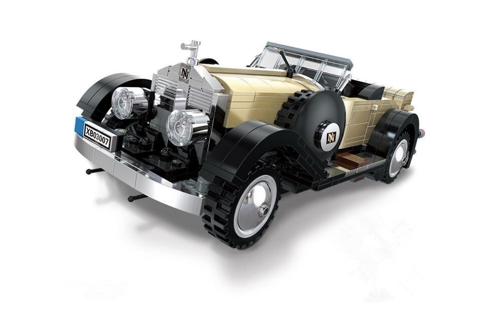 Idées Classique De Luxe De Voiture Noble Cabriolet Modèle Blocs de Construction Jouets pour Enfants Compatible Avec Tous Les LEPIN Créateur Brique