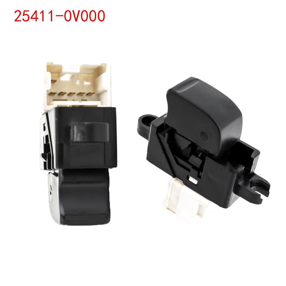 Front Left Power Window Switch For Nissan Pathfinder Terrano MK2 R20 X-Trail T30 Almera Tino  25411-0V000 254110V000