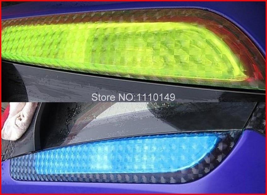 Carcardo 30CM X 200CM 3D μάτι προβολέων ματιών - Εξωτερικά αξεσουάρ αυτοκινήτων - Φωτογραφία 5