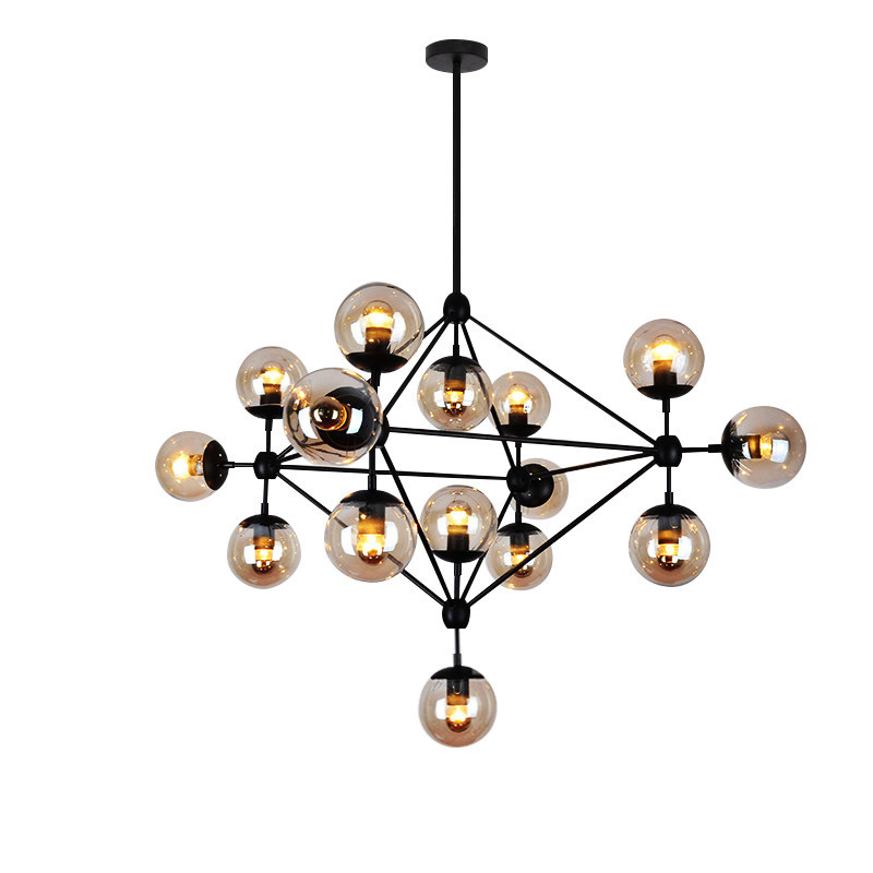Nordic industrial style vintage chandelier lighting creative magic beans hanging lamp with e27 led bulb for restaurant clothing gilbert e big magic creative living beyond fear