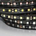 DC12V LED 5050 SMD Pcb Preto tira flexível à prova d' água Durante o Dia executando luzes DRL RGB 60 Leds/m fita DIY Fita lâmpada do carro 1/5 m