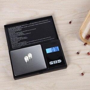 Image 5 - Urijk 1Pcs 디지털 방식으로 가늠자 100/200/300/500/1000g 0.01/0.1g 부엌 보석 약을위한 정확한 LCD 전시 포켓 가늠자 그램 무게