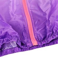 Unisex Gradient Print Hooded Jacket