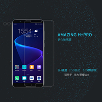 Honor V10 Glass Screen Protector Film NILLKIN Amazing H PRO 2 5D Tempered Glass Protective Film