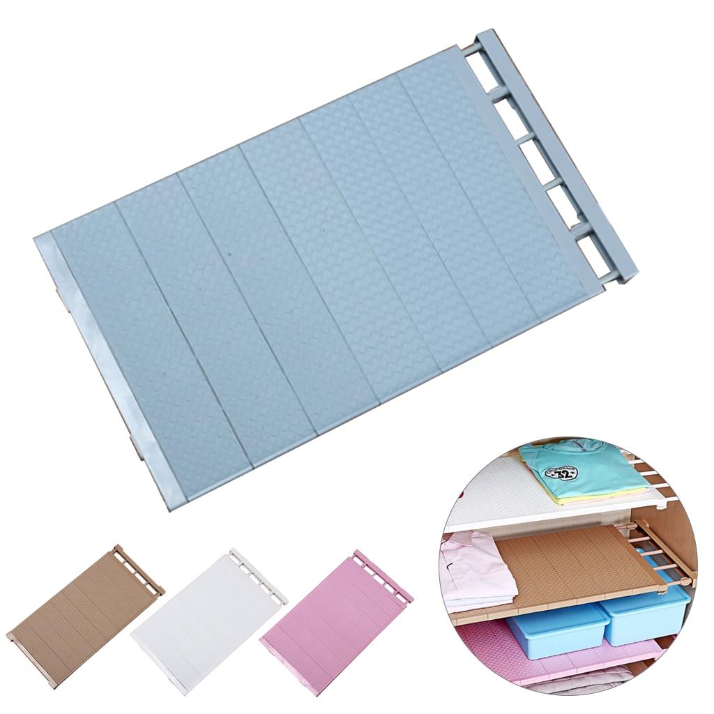Closet Organizer Storage Adjustable Shelf Wall Mounted Kitchen Rack Space Saving Wardrobe Decorative Shelves Cabinet Holders