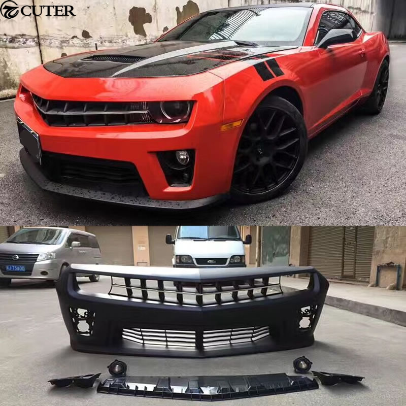 Zl Pp Upainted Front Bumper Racing Grills Car Body Kit For Chevrolet Camaro Zl on Honda Civic Front Bumper Clips