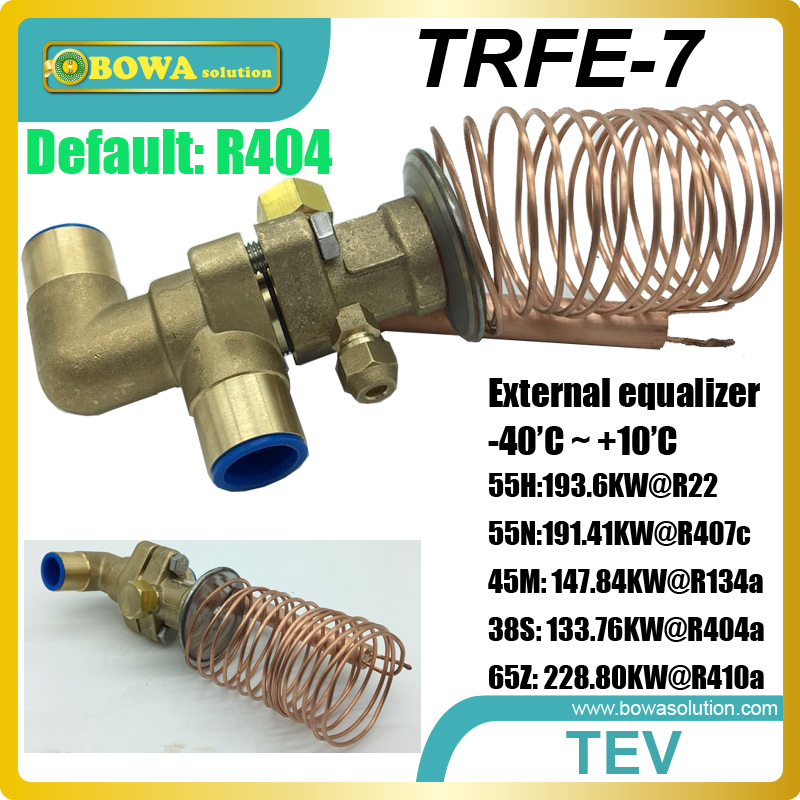 55TR thermostatic expansion valves suitable for screw compressor units, compressor racks and multi-evaporators systems univeral expansion valves suitable for wide cooling capacity range and different refrigerants fridge equipments or freezer units