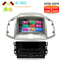 Android 8.0 Car Radio DVD GPS Navigation Multimedia Player For Chevrolet Captiva Epica 2012 2013 2014 2015 Auto Audio Stereo