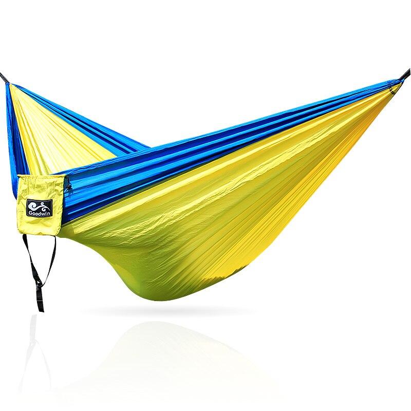 Ultralight Travel Parachute Hammock  Hanging Sleeping Hamac Garden 2 Person Outdoor Hamak Furniture Bed