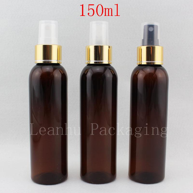 150ml rjave prazne šminke za ponovno polnjenje, plastične - Orodja za nego kože