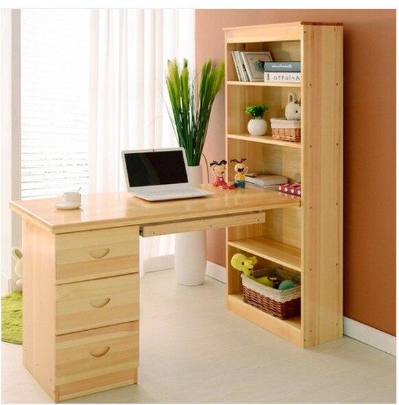 holz computer zu hause schreibtisch studie tisch kinder. Black Bedroom Furniture Sets. Home Design Ideas