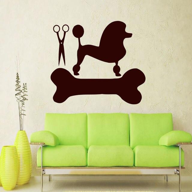 Wall Decals Dog Grooming Salon Decal Vinyl Sticker Pet Home Decor Art