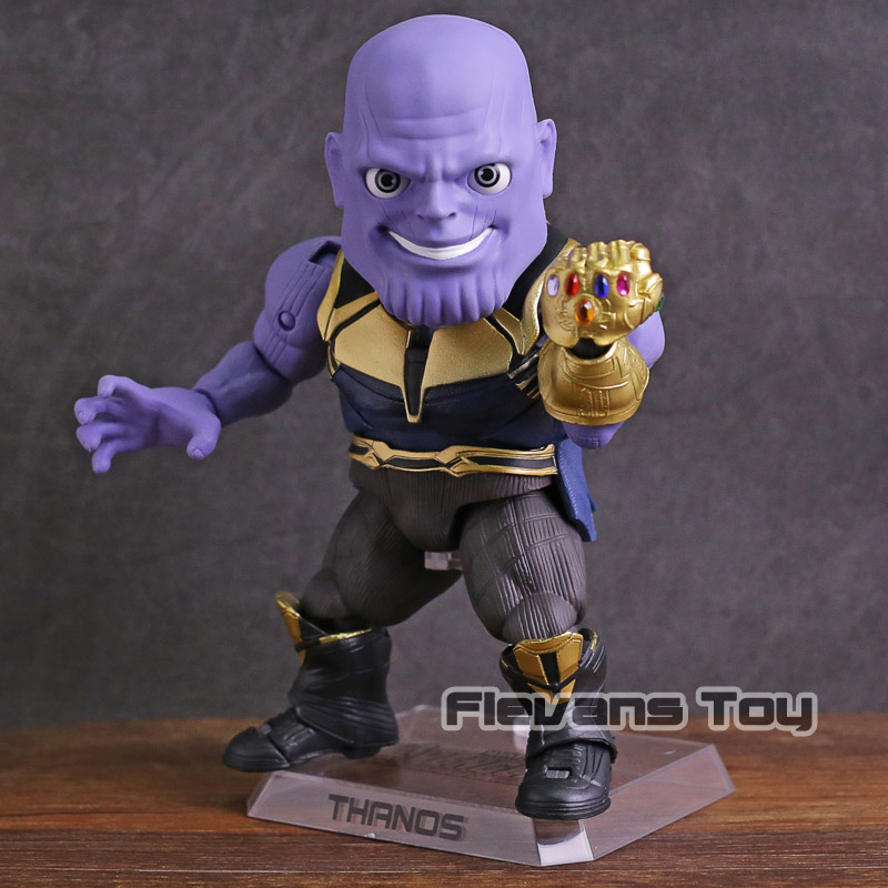 Marvel Avengers Infinity War Thanos Egg Attack Action EAA-059 PVC Action Figure Collectible Model Toy action figure marvel avengers 3 infinity war figure thanos pvc avengers infinity war thanos figure collectible model toys light