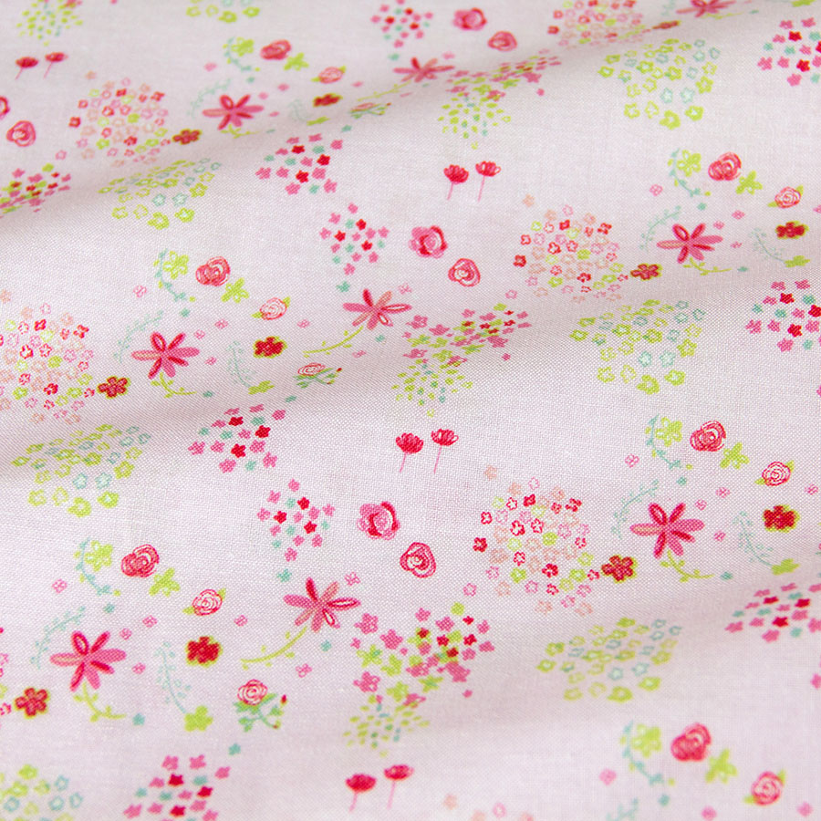 Fabric Flower Pattern Cool Decorating Design