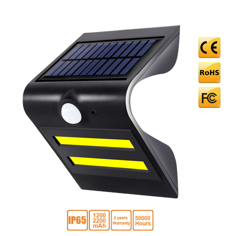 LED Solar Power PIR Motion Sensor Wall Light Outdoor Waterproof Energy Saving Street Yard Path Home Garden Security Lamp COB LED led solar power pir motion sensor wall light 60 led outdoor waterproof energy saving street yard path home garden security lamp