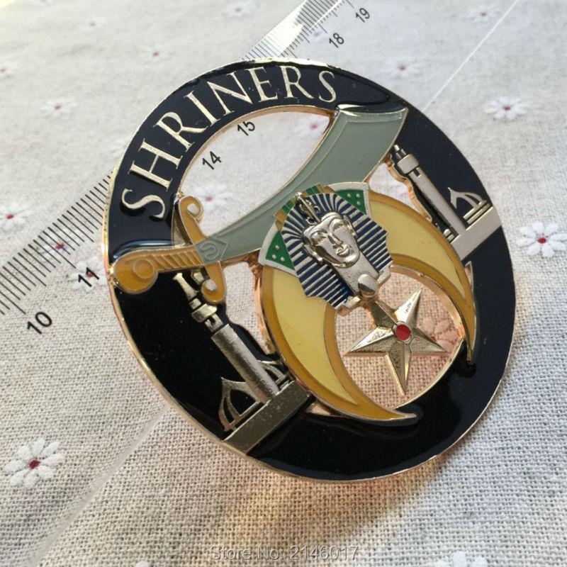 Masonic Shriners Car Emblem