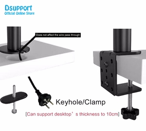 Image 5 - Six Arm LCD LED Monitor Stand Desk Mount Bracket Heavy Duty & Fully Adjustable 6 Screens up to 27