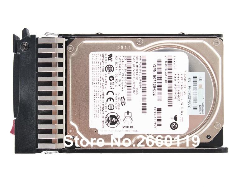 100% working original server hard disk drive for HP 507125-B21 507283-001 146GB SAS 10K 2.5 HDD with good quality sas festplatte 146gb 10k sas 6g dp 507125 b21