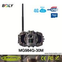 Bolyguard охотничья камера 4G Дикая камера GSM ночного видения MMS GPRS Черный IR 30MP 1080P HD фото ловушки переносная Trail камера