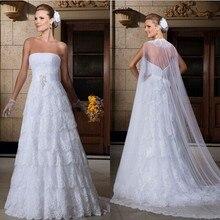 Vestido De Noiva 2019 A-Line Wedding Dresses Court Train