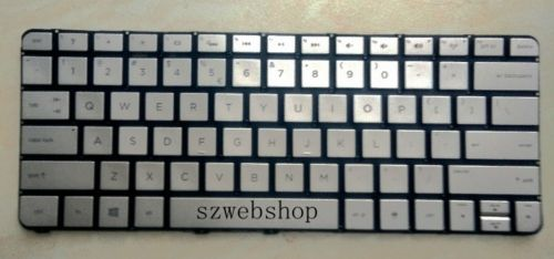 New for HP Spectre 13-3010DX 13-3018CA laptop Keyboard English US Backlit silver 743897-001 MP-13J73USJ886