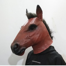 Hot Selling Characters Celebrity Party Animal Mask Classic Cosplay Latex Horse Carnival