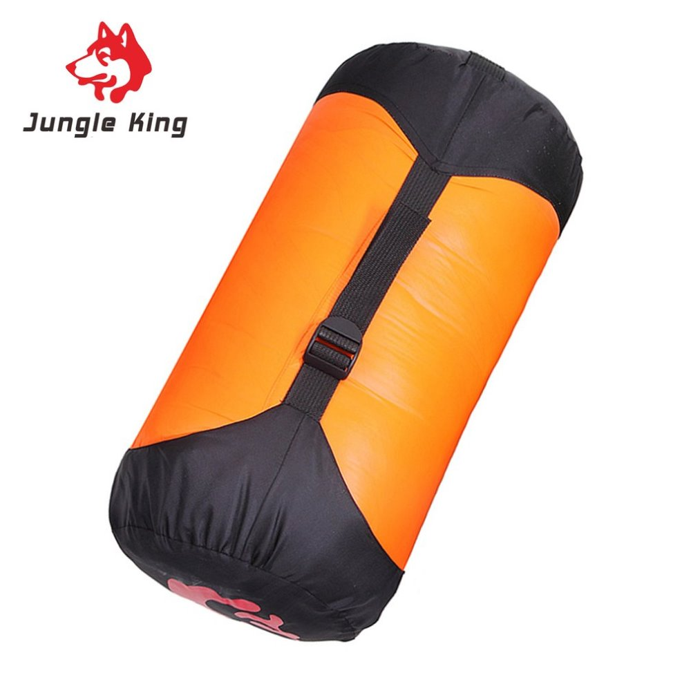 Jungle King 2.1m Length Portable Duck Down Sleeping Bag Comfortable Outdoor Camping Travel Envelope Cold Weather Sleeping Bag