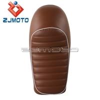 Universal Retro Locomotive Refit Motorcycle Cushion Waterproof Hump Motorcycle Seat Cover For Honda CG125 Seat Cushion
