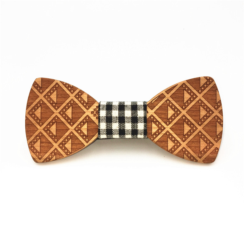11.11 gravata Mens Wooden Bow Tie Accessory Wedding christmas Gifts Wood Bowtie For Men kraagje nep dames corbatas hombre 2017