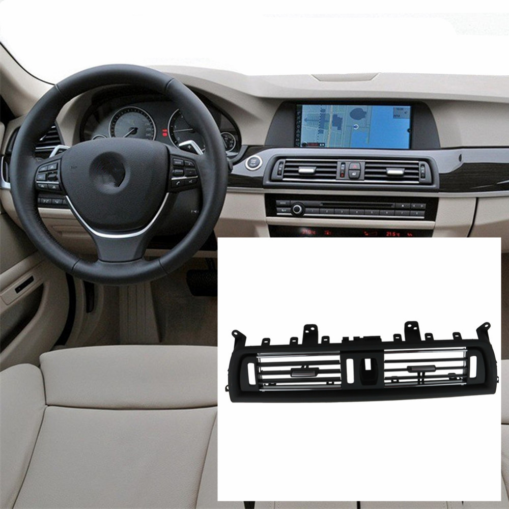 Image 2 - 2 Styles Front Console Grill Dash AC Air Conditioner Vent For BMW F10 F11 F18 520i 523i 525i 528i 535i .-in Air-conditioning Installation from Automobiles & Motorcycles