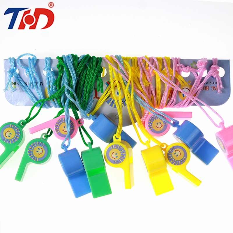 THD 12 Pcs Colorful Whistle Soccer Football Basketball Hockey Baseball Sports Referee Whistle Outdoor Survival Whistle