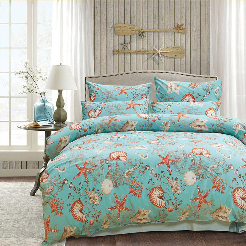 Popular Seashell Cheap Bedding Lots