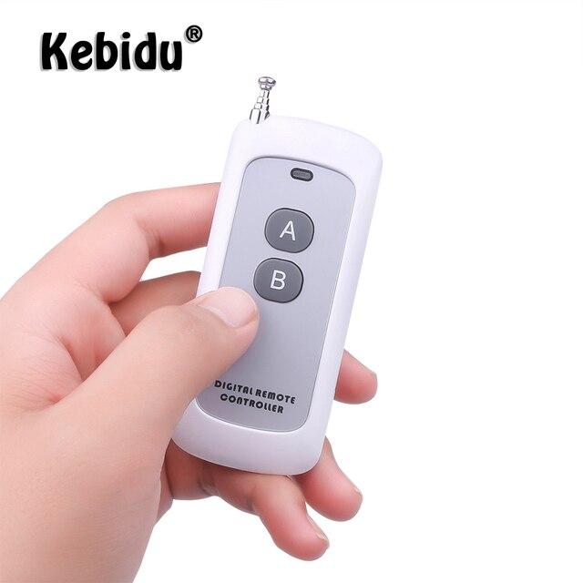وحدة التحكم عن بعد اللاسلكية طويلة المدى Kebidu تردد 433 ميجا هرتز وحدة RF 2/4 مفتاح التحكم عن بعد لباب البوابة