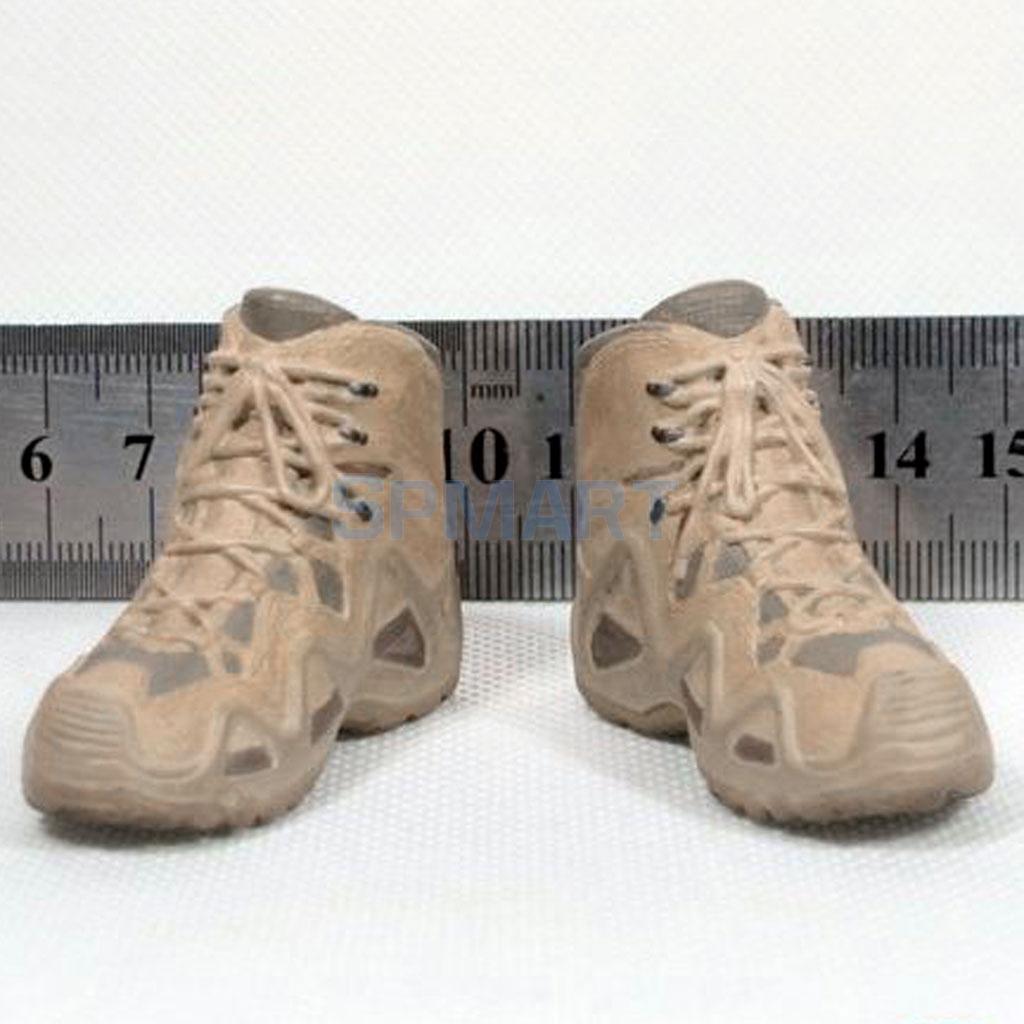 MagiDeal Juguetes de Zapatos Cuero 1/6 Escala Goma Hombres para Militar Figura 12 Pulgadas - #a TI6nZHn