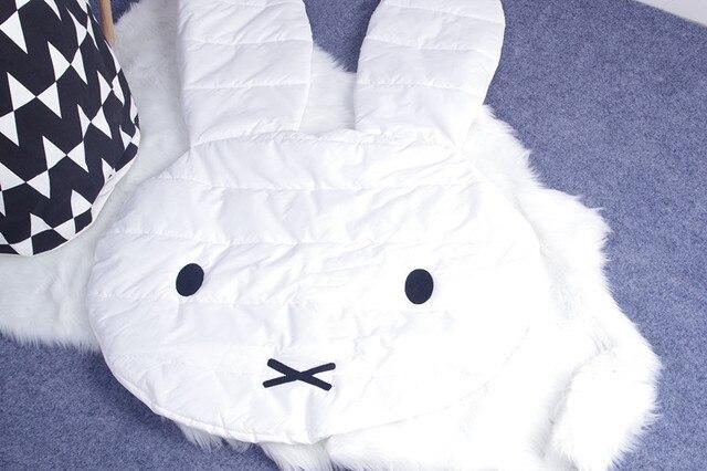 Мода Европа Новорожденный Кролик шаблон Коврик принять фото фон детская комната ковер