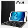 Fashio Bluetooth keyboard case for 8.4 inch Huawei MediaPad M3 BTV-W09/DL09 tablet pc for Huawei MediaPad M3 keyboard case cover