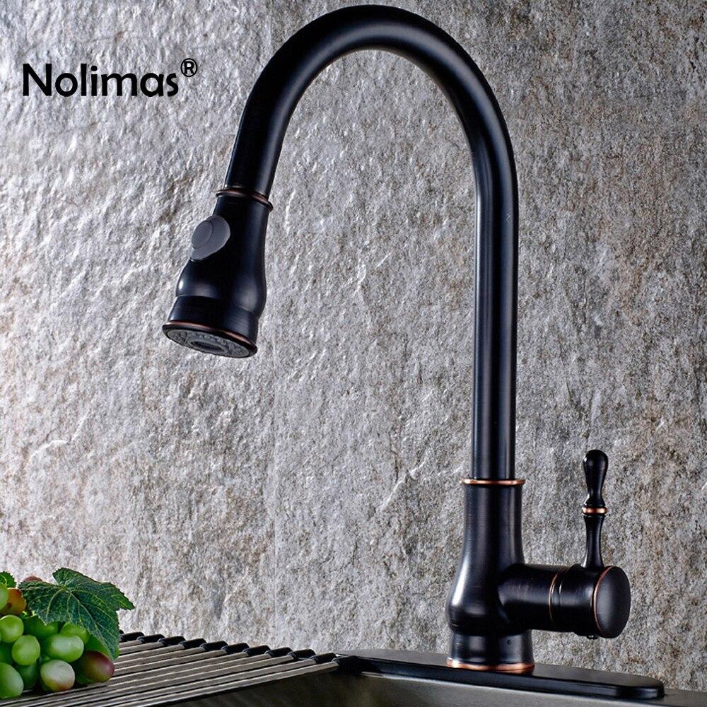 KüChenarmatur Schwarz Granit OC94 – Hitoiro