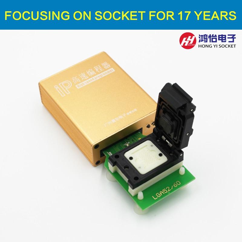Новый IP коробка V 2 высокая скорость nand flash ic программист для IPhone IPad жесткий диск 4S 5 5C 5S 6 6 плюс обновление памяти инструменты 16 г до 128 г