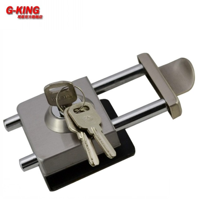 Not A Single Sliding Glass Door Lock Drilling Rod Inserted Double Anti