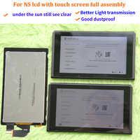 Original für NS konsole lcd display + touch screen Volle bildschirm montage ersatz für Nintend Schalter zubehör