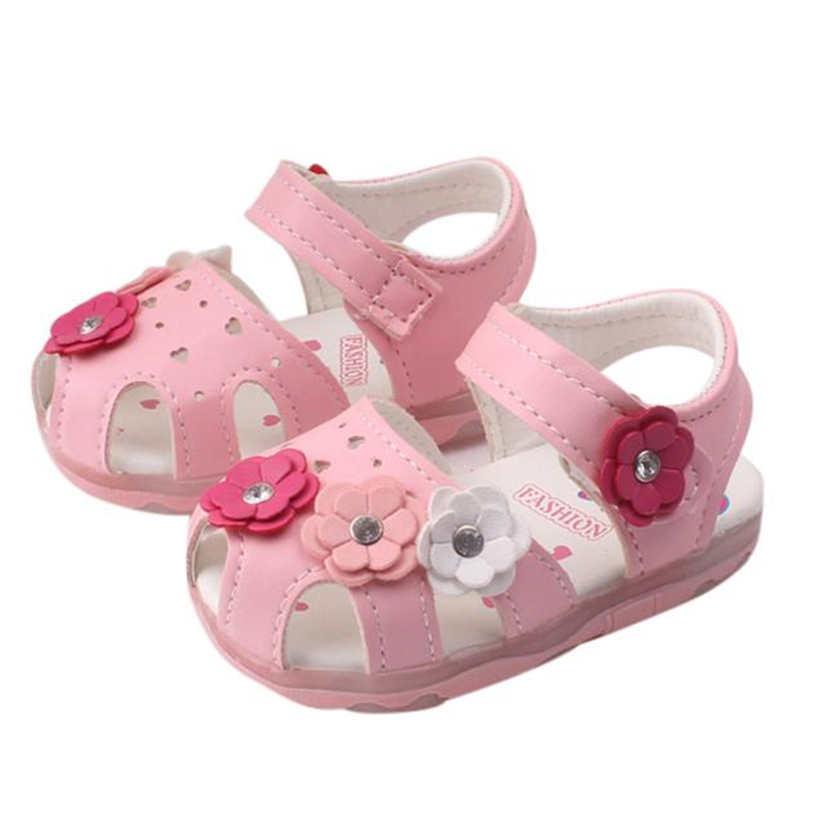 Sandalen & Clogs 2019 Neue Infant Mädchen Baby Schuhe Anti-slip Blume Nette Kleinkind Sandalen Schuhe Sommer Baby Mädchen Schuhe Für Geburtstag Geschenk Mutter & Kinder