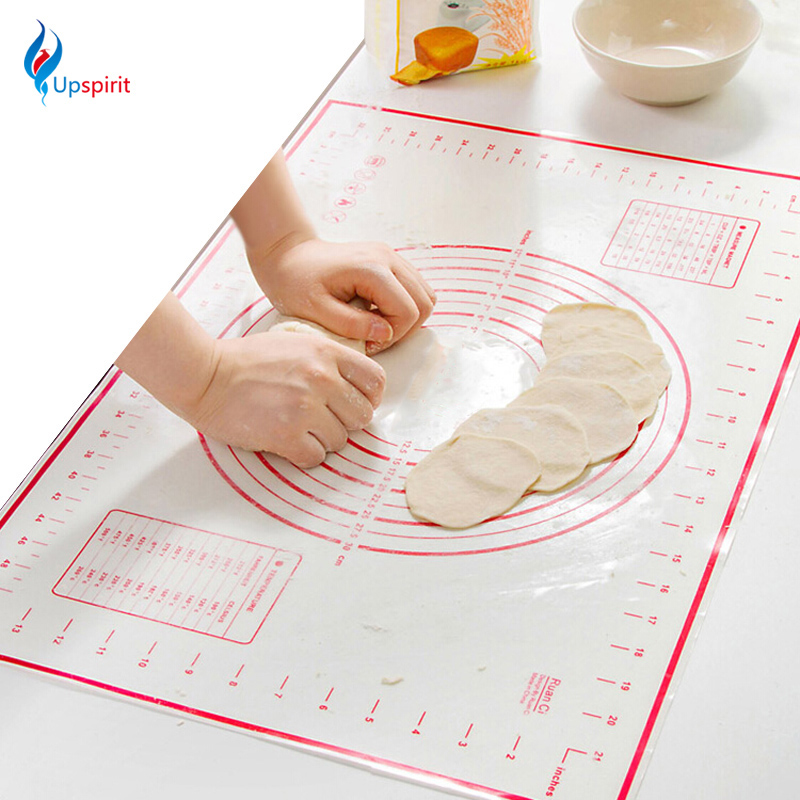 New Large Size 60 X 40cm Silicone Baking Mat Sheet Rolling