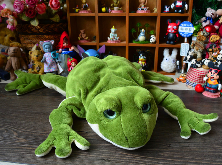 Stuffed Frog doll   Cute Plush Animal Toys  Child  pillow Gifts Toy store couple frog plush toy frog prince doll toy doll wedding gift ideas children stuffed toy