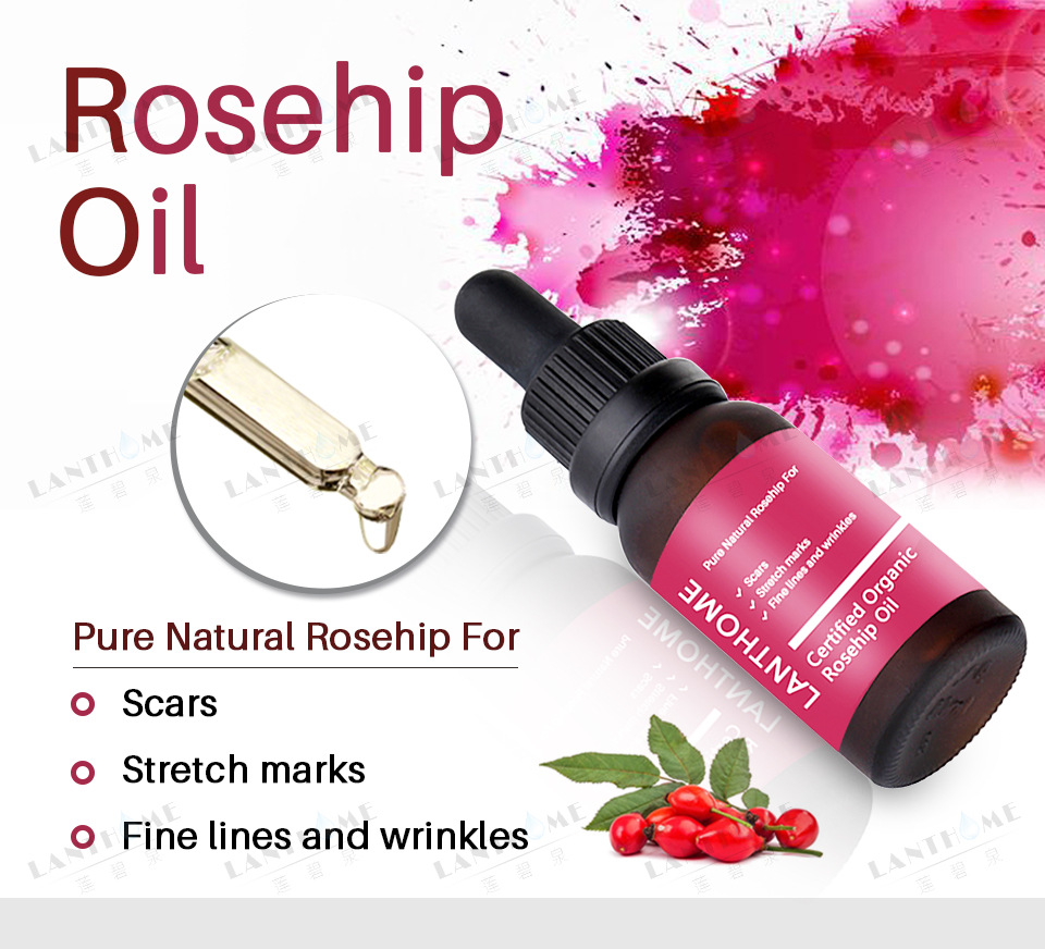 New Scar Stretch marks Repair Skin Essential Oil Moisturizing Essence Rosehip Oil Skin Care Natural Pure Remove Ance Treatment in Essential Oil from Beauty Health