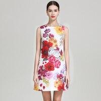 GoodliShowsi розовое короткое платье с цветочным принтом без рукавов с бисером Элегантное летнее женское платье