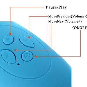 Image 4 - Yeni Çok fonksiyonlu Taşınabilir Mini Futbol kablosuz bluetooth Hoparlör Mic HIFI Süper Bas Desteği USB TF Kart Tüm Telefon Için